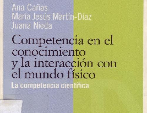 Competencia en el conocimiento y la interacción con el mundo físico.