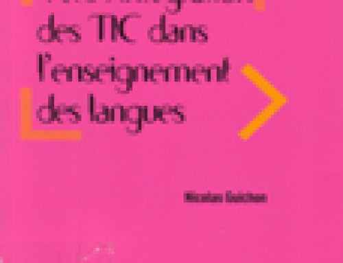 Vers l´intégration des TIC dans l´enseignement des langues