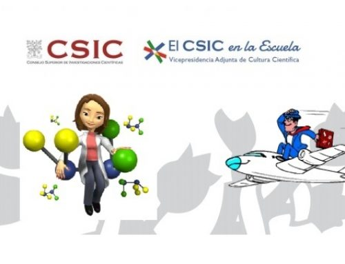 El CSIC en la escuela: De las moléculas al vuelo