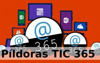Pildoras TIC 365