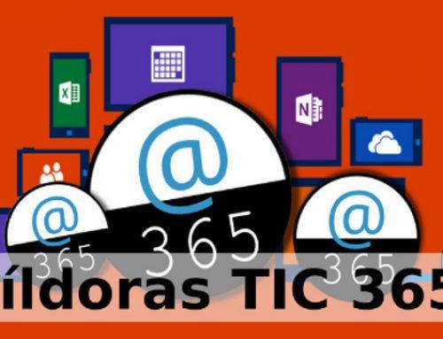 Convocatoria Píldoras TIC 365. Itinerario 1. OneDrive, OneNote, Class NoteBook y Teams