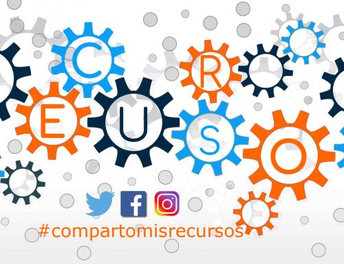 #compartomisrecursos, ¿te unes?