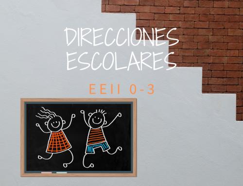 Actualización de la función directiva de las direcciones EEII 0-3