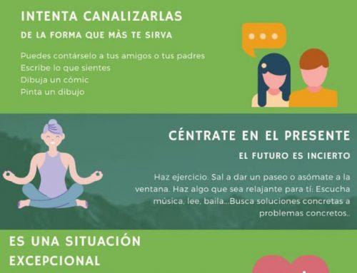 #compartomisrecursos #tepuedeinteresar IES Pérrez de Ayala: Gestión emocional: cómo cuidar tu salud mental en esta situación