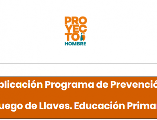 Asociación Proyecto Hombre. Curso: Aplicación del Programa Juego de Llaves. Educación Primaria
