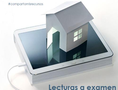 Lecturas a examen. #compartomisrecursos