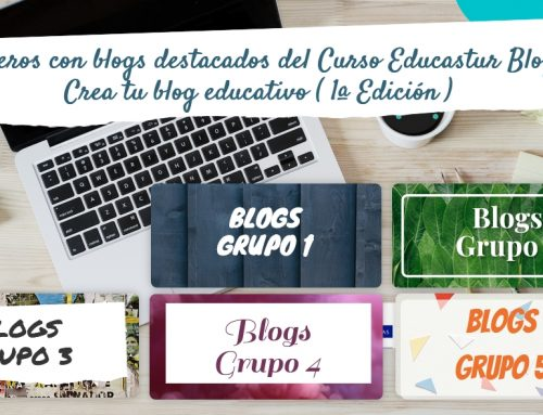 "Blogs destacados de la 1ª edición del Curso ""Educastur Blog. Crea tu blog educativo"""
