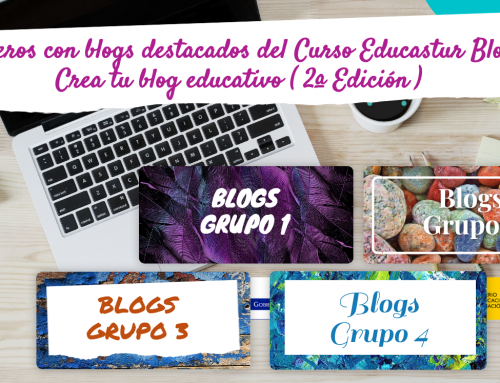 "Blogs destacados de la 2ª edición del Curso ""Educastur Blog. Crea tu blog educativo"""