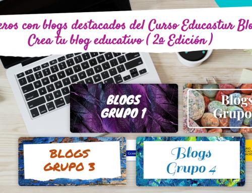 """Blogs destacados de la 2ª edición del Curso """"Educastur Blog. Crea tu blog educativo"""""""