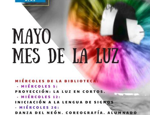 """IES Leopoldo Alas Clarín. Actividad: """" Mayo, mes de la luz """" #compartomisrecursos."""