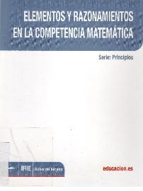 Elementos y razonamientos en la competencia matemática.