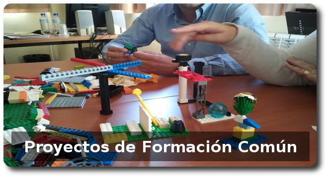 Proyectos de actividadesd e formación común