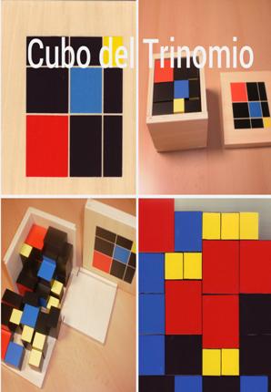 Cubo del Trinomio: Introducción a la pedagogía y metodología Montessori 6 -8 años. Área sensorial