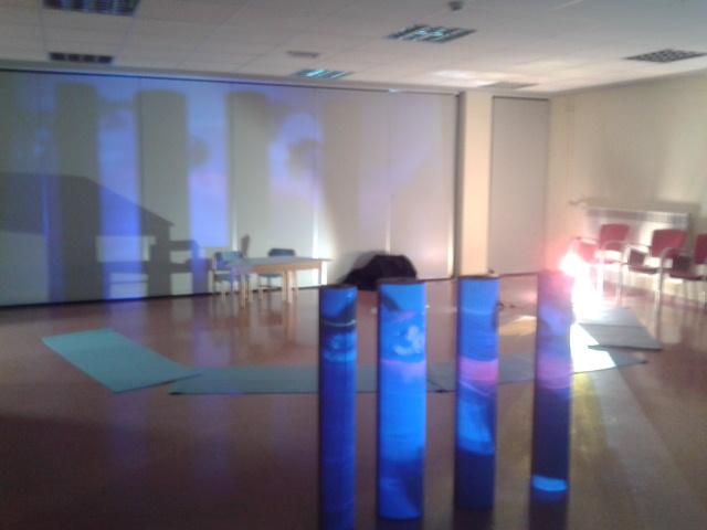 Sesión de formación con GTI El tercer educador: el espacio.