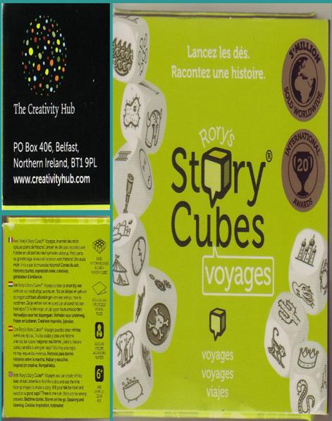 Story Rory´s cubes  voyages : lancez les dés. Racontez une historie