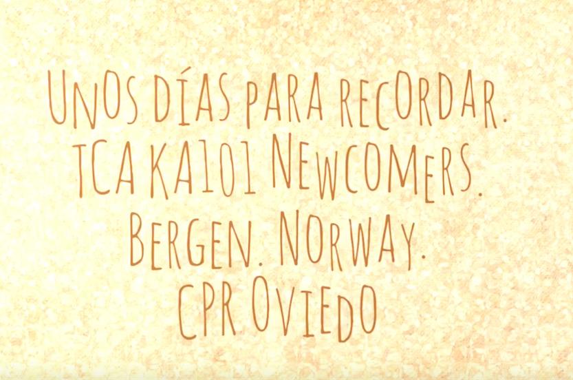 Actividad de cooperación transnacional TCA KA101 Newcomers (Bergen, Noruega)