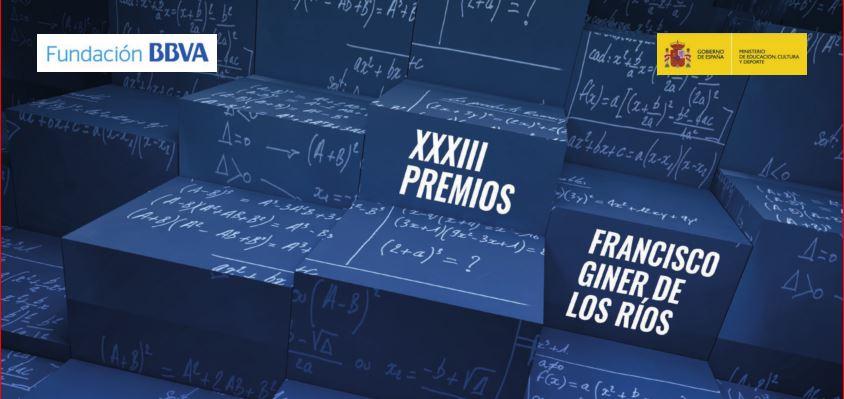 XXXIII Premios Francisco Giner de los Ríos a la Mejora de la Calidad Educativa