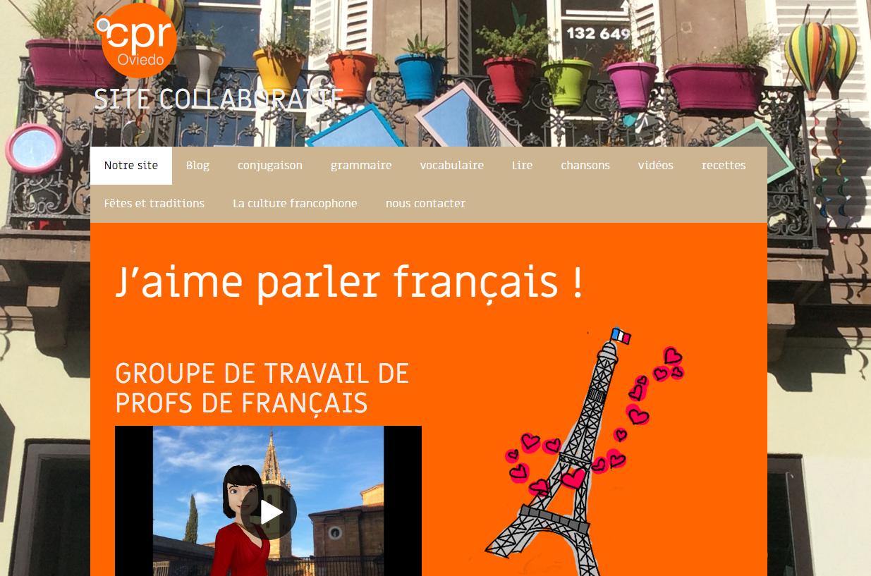 Recursos educativos en francés.