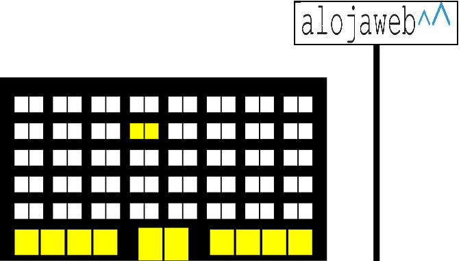 Diseño de la web del centro educativo con Alojaweb