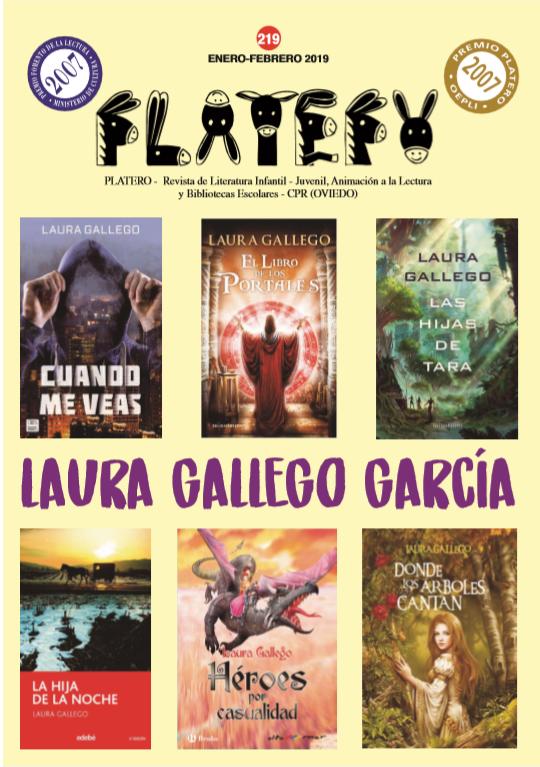 Laura Gallego García Nº219 (Enero-Febrero 2019)
