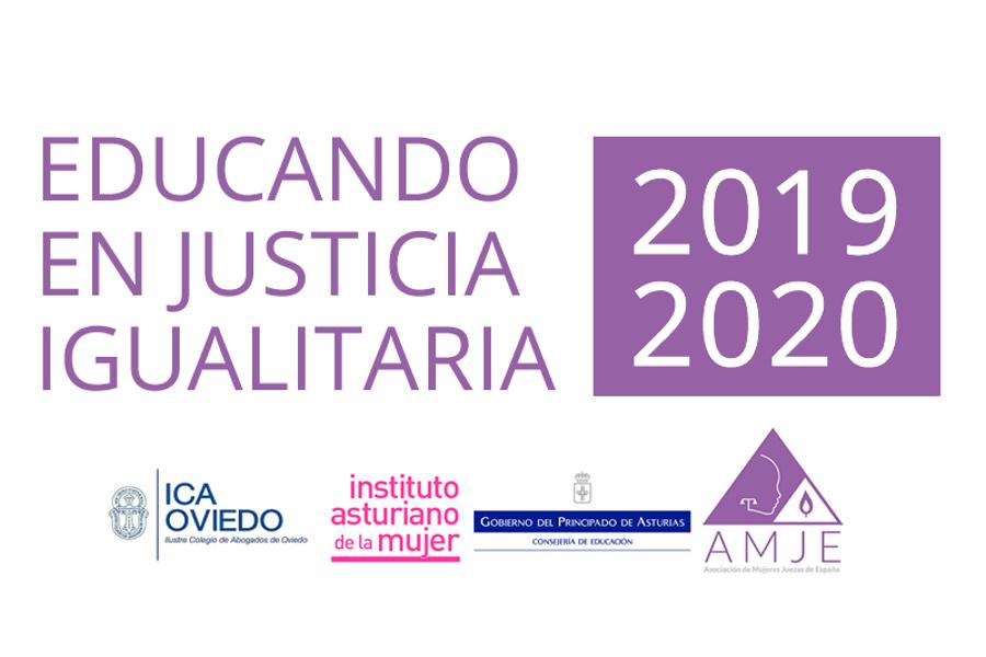 Programa Educando en Justicia igualitaria 2019-2020