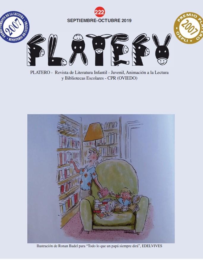 Bibliotecas escolares y animación a la lectura (segunda parte). Nº 222 (Septiembre-octubre 2019)
