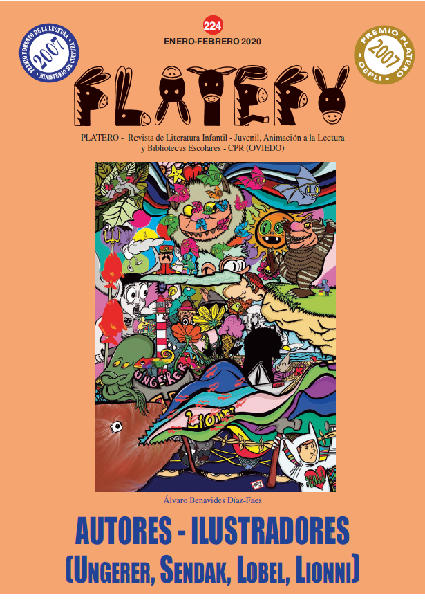 Autores-ilustradores: UNGERER, SENDAK, LOBEL, LIONNI. Nº 224 (Enero-Febrero 2020)