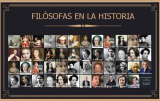 Filósofas en la historia