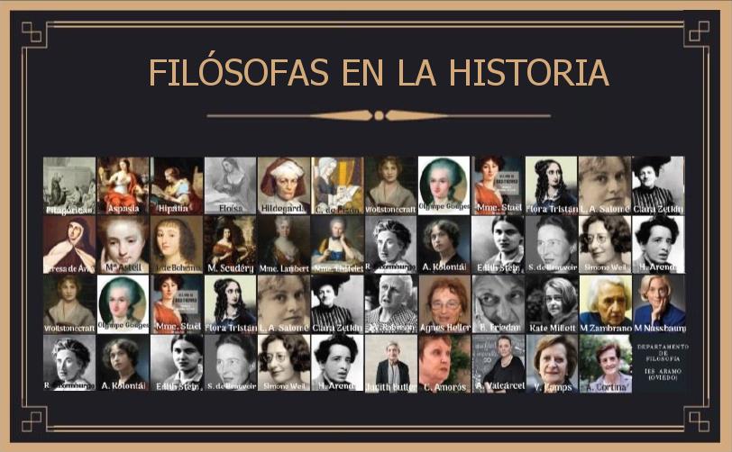 Filósofas en la Historia #compartomisrecursos