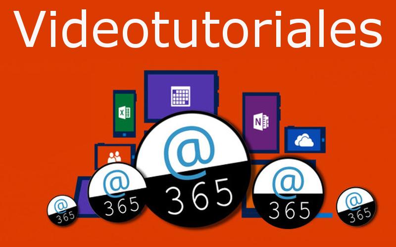 Vídeotutoriales aplicaciones online office 365
