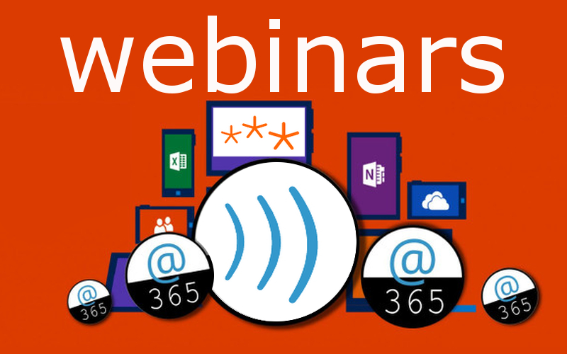 Webinars sobre las herramientas Office 365. Teams, Forms, Sway, Stream, Onedrive, Minecraft