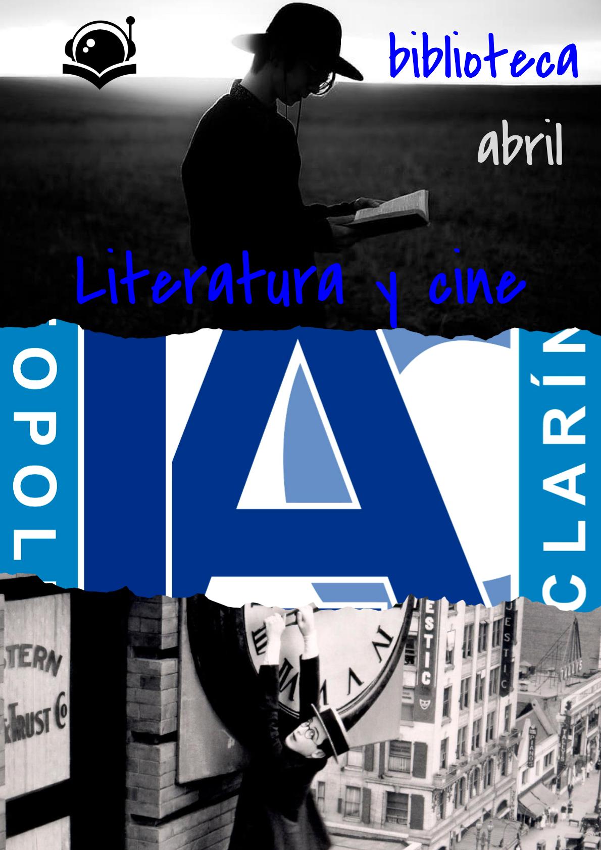 #compartomisrecursos. Actividad sobre Literatura y Cine en el IES Leopoldo Alas Clarín