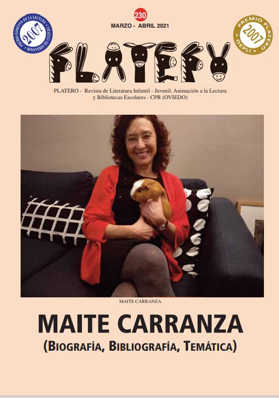 Maite Carranza (Biografía, Bibliografía, Temática). Nº 230 (marzo-abril 2021)