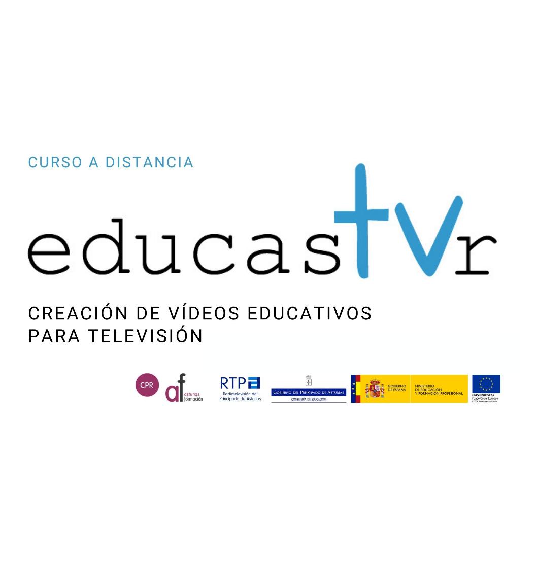 """Abierta inscripción Curso """"Educastur TV. Creación de vídeos educativos para televisión"""""""